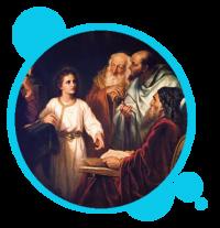 MISTERIO GOZOSO: LA PÉRDIDA Y HALLAZGO DEL NIÑO JESÚS EN EL TEMPLO