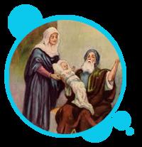 MISTERIO GOZOSO: LA PRESENTACIÓN DE NIÑO JESÚS EN EL TEMPLO